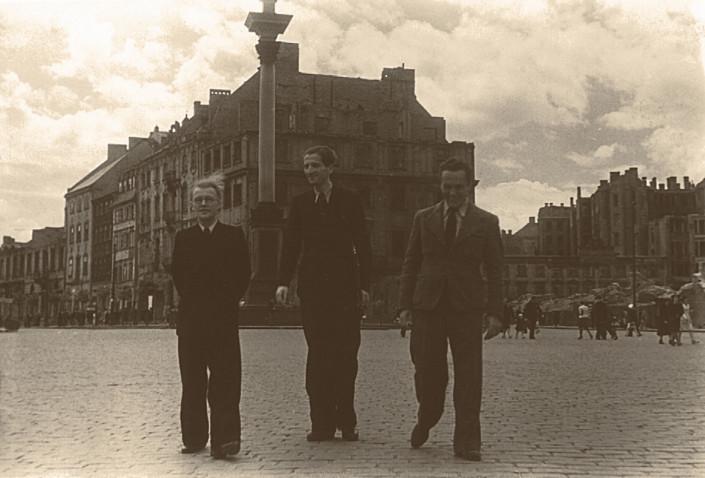 Tadeusz Paciorkiewicz, Feliks Rudomski i Michał Mikuczyński