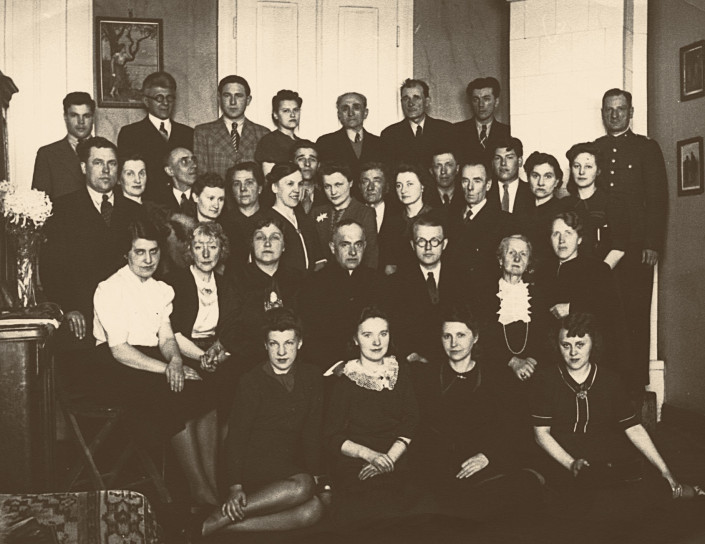 The choir of St. Martin church