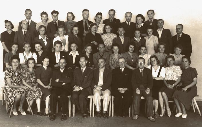 Uczestnicy wakacyjnego kursu dla nauczycieli śpiewu w Płocku