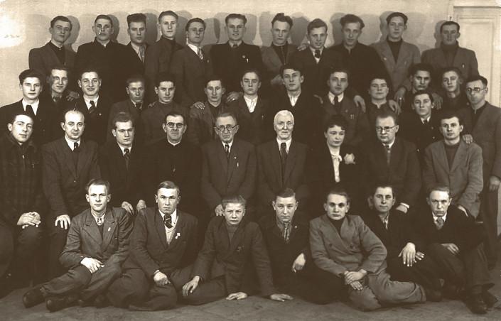 Uczniowie i profesorowie Szkoły Muzycznej w Płocku