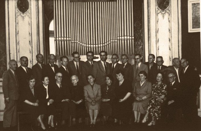 Professors of the State Higher Music School in Łódź