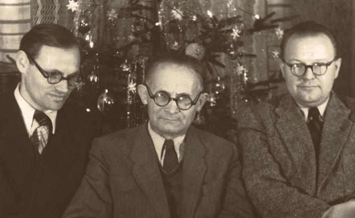 Franciszek Wesołowski, Kazimierz Jurdziński, Tadeusz Paciorkiewicz