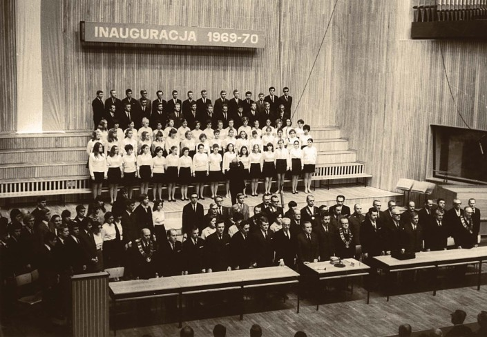 Inauguration of 1969-1970 academic year