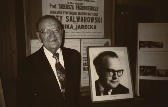 Tadeusz Paciorkiewicz podczas koncertu jubileuszowego