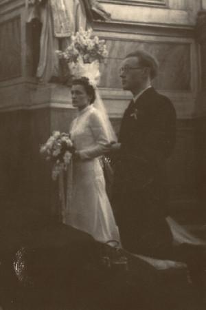 Tadeusz Paciorkiewicz i Zofia Wiaczkis