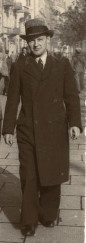 Tadeusz Paciorkiewicz w Warszawie, 1938