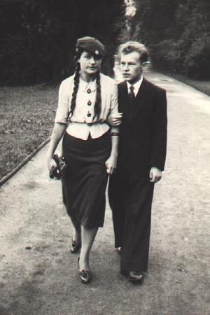Zofia Wiaczkis i Tadeusz Paciorkiewicz