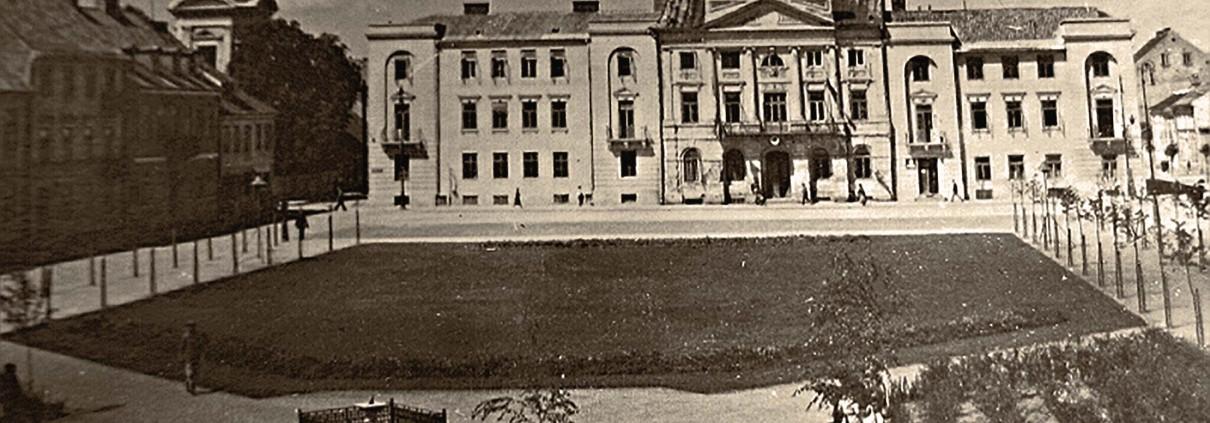 Płock, Ratusz miejski, 1945-1950